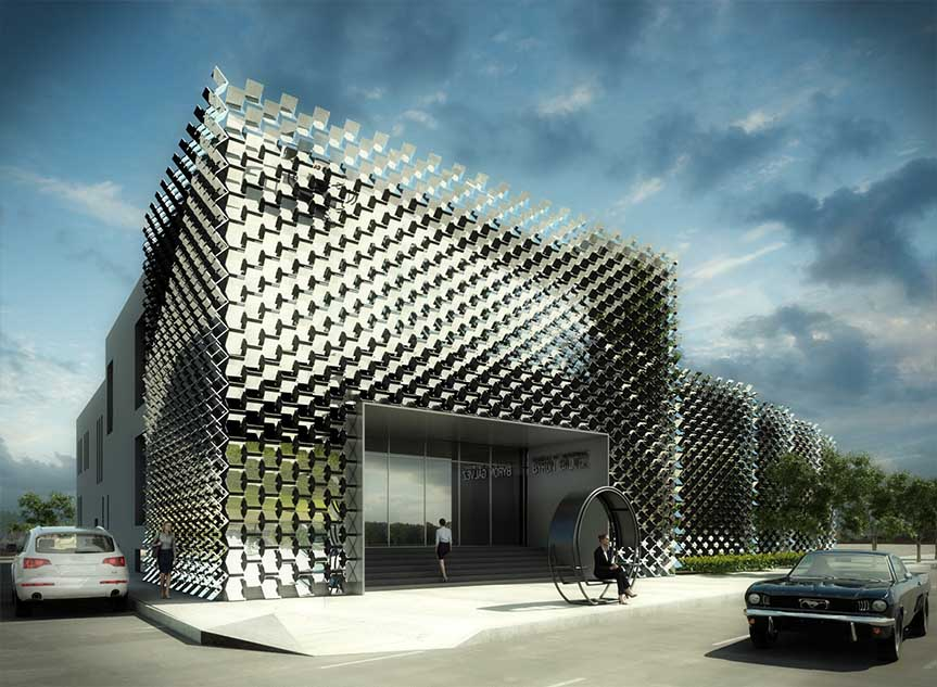 New proposal for the Contemporary Art Gallery of Hidalgo State : SLOT STUDIO