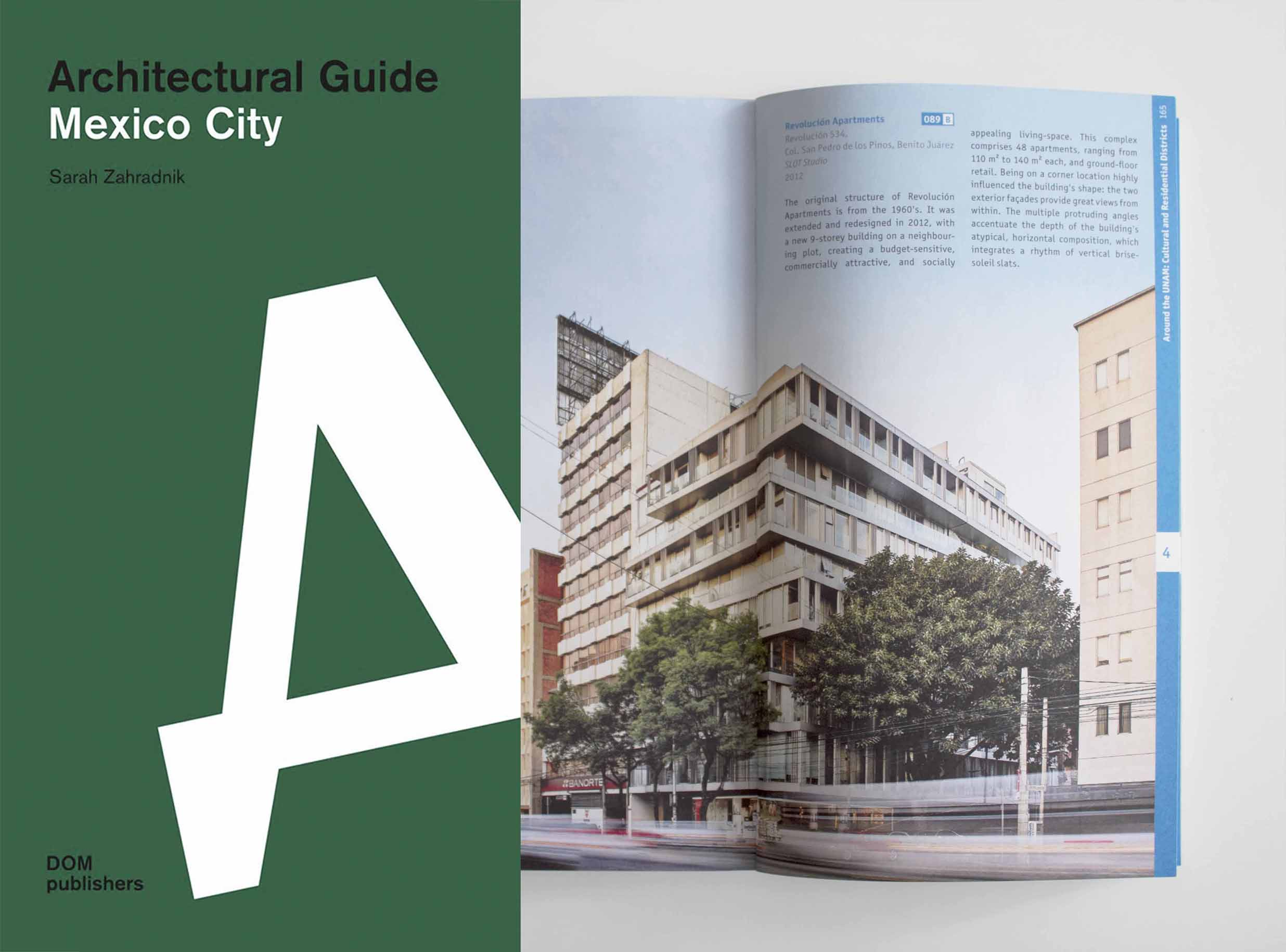 REVOLUCIÓN APARTMENTS FOUNDED IN ARCHITECTURAL GUIDE : SLOT STUDIO